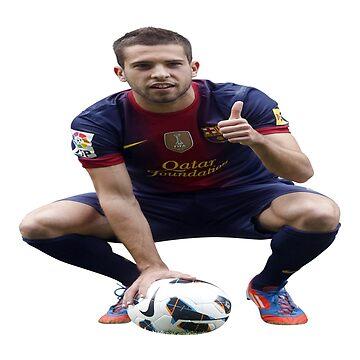 Jordi Alba by awasaf