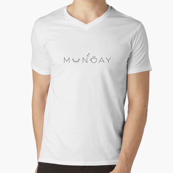 Monday V-Neck T-Shirt