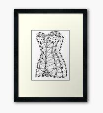 Corset #1 Framed Print