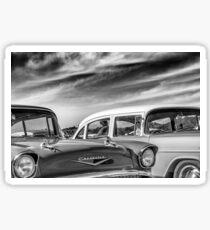 1957 Chevrolet - B&W Sticker