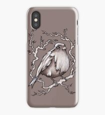 Sitting Pretty Bird iPhone Case/Skin