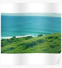 Lennox Head Lookout  Poster