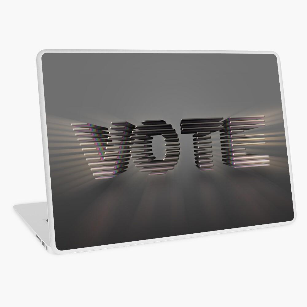 Vote Laptop Skin