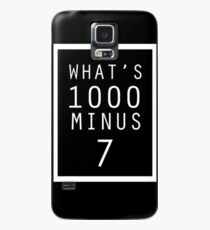 Tokyo Ghoul What's 1000 minus 7 Case/Skin for Samsung Galaxy