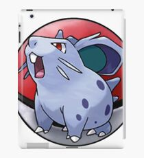 Nidoran (female) pokeball - pokemon iPad Case/Skin
