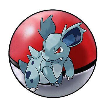 Nidorina pokeball - pokemon by pokofu13