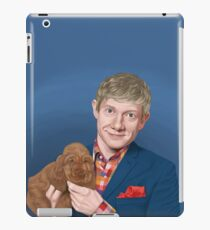 Martin Freeman with Puppy iPad Case/Skin
