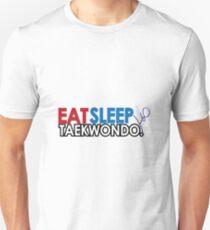 Eat, Sleep, Taekwondo Slim Fit T-Shirt