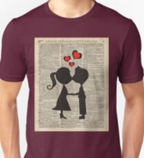 """I love you"" Cute Couple - Dictionary Art.Perfect Gift! T-Shirt"