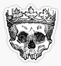 Crowned Skull Sticker