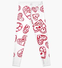 Love and happiness Leggings