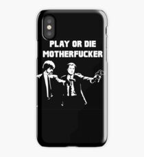 Lets play PULP FICTION iPhone Case