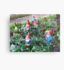 Garden Gnome VRS2 Metal Print
