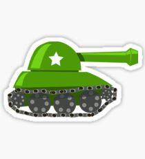Cartoon Game Tank Sticker