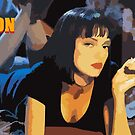 Pulp Fiction Mia Wallace by crazyowl