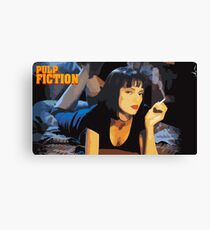 Pulp Fiction Mia Wallace Canvas Print