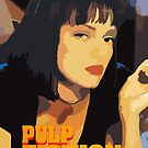 Mia Wallace Pulp Fiction by crazyowl