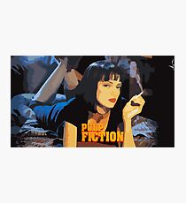 Mia Wallace Pulp Fiction Photographic Print