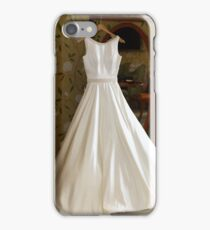 Brides wedding dress iPhone Case/Skin