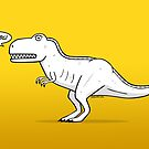 Cartoon Tyrannosaurus Rex by Chris Jackson