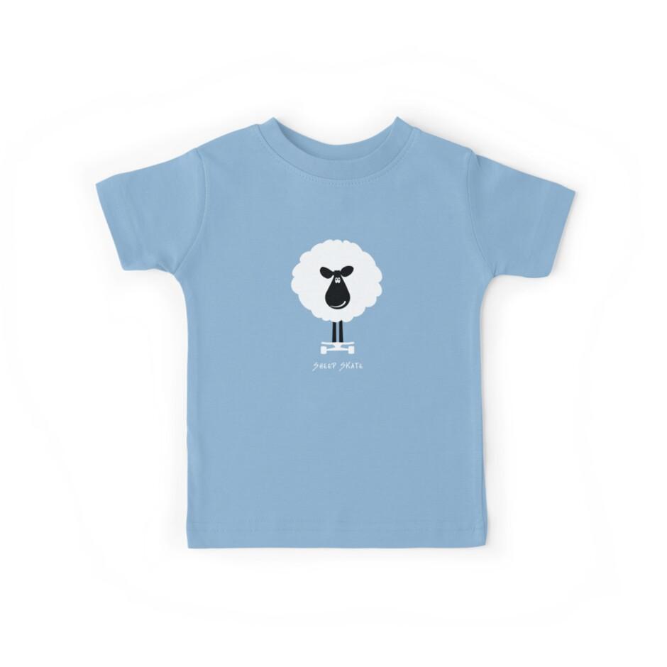 Sheep Skate - Graphic Tee by BlueShift