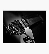 Classic Guitar Photographic Print