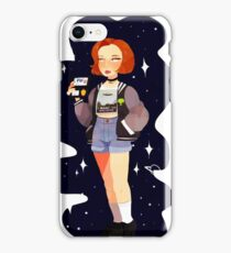 Super 90's Scully unlocked iPhone Case/Skin