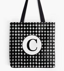 C Bubble Tote Bag