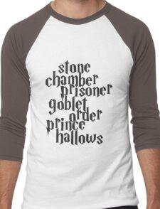 Stone Chamber Prisoner Goblet Order Prince Hallows Men's Baseball ¾ T-Shirt