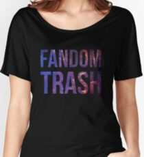 Fandom Trash Women's Relaxed Fit T-Shirt