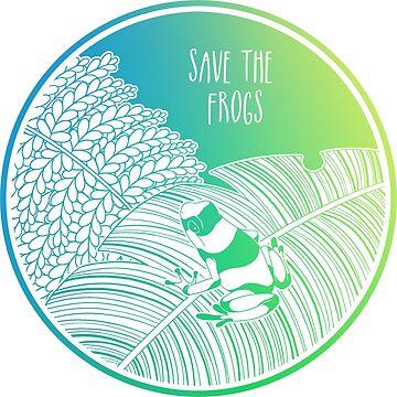 ¡Salva a las ranas! de Chikagi