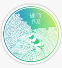Save the Frogs! Sticker