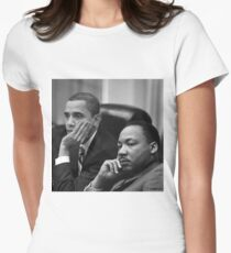 ObaMartin Women's Fitted T-Shirt