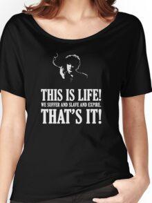 Bernard Black - Black Books T Shirt Women's Relaxed Fit T-Shirt
