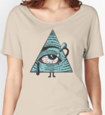 Illuminati Are Baked Women's Relaxed Fit T-Shirt