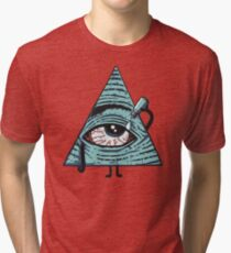 Illuminati Are Baked Tri-blend T-Shirt