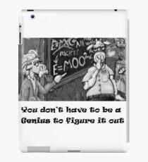 Genius Cow iPad Case/Skin