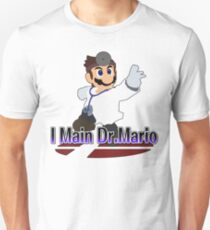 I Main Dr.Mario - Super Smash Bros Melee T-Shirt