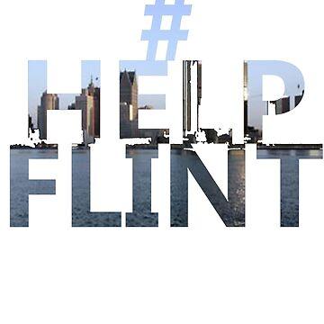 Hashtag Help Flint by UFBWill