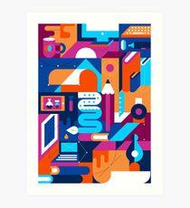 Creative Process Art Print