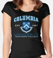 Columbia Teachers College Women's Fitted Scoop T-Shirt