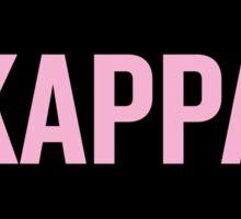 Kappa Kappa Gamma Sorority Beyonce Sticker