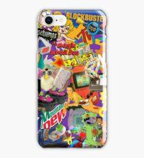 90's Life  iPhone Case/Skin