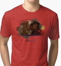 Clexa - The 100 - Brush Kiss Tri-blend T-Shirt