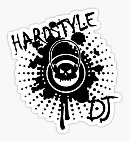 Hardstyle DJ VRS2 Sticker