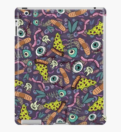 Weird Objects and Pizza iPad Case/Skin