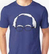 Blue Bernie Head  Unisex T-Shirt