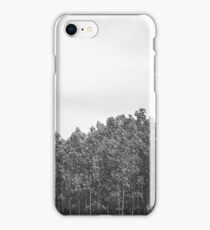 Simplistic Tree Landscape (FILM) iPhone Case/Skin
