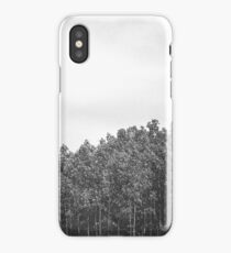 Simplistic Tree Landscape (FILM) iPhone Case/Skin