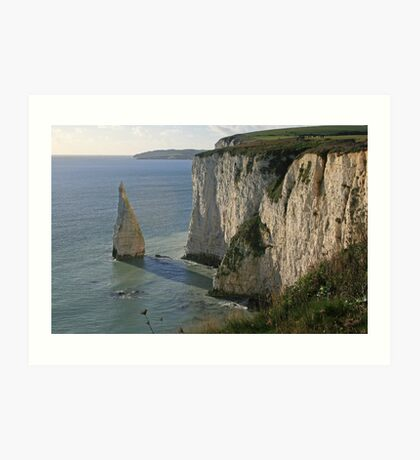The Pinnacles and Peveril Point Art Print